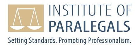 JBE Health client testimonial institute of paralegals logo