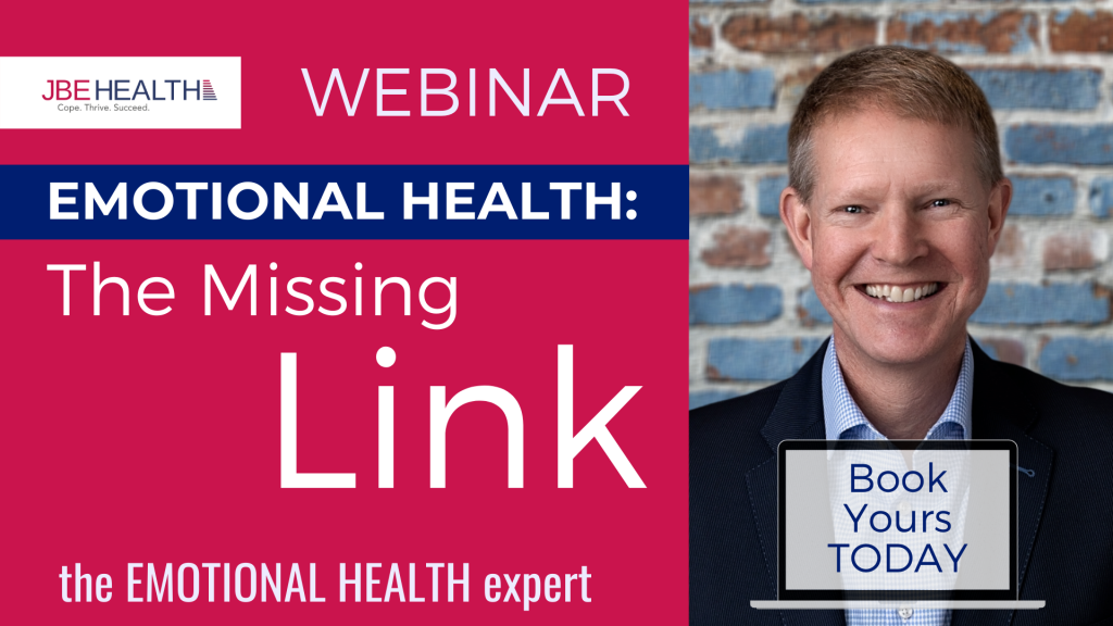 Emotional Health - the Missing Link